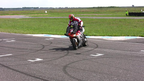 moto trick Stock Video Footage
