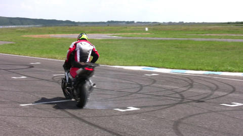 moto trick Stock Video Footage