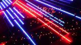 Night Neon Light Casino 2 stock footage