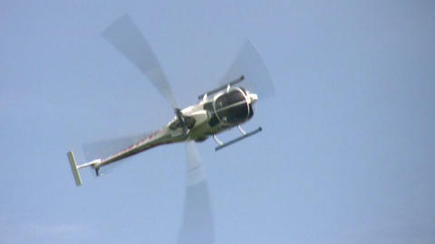 helicopter roll Stock Video Footage