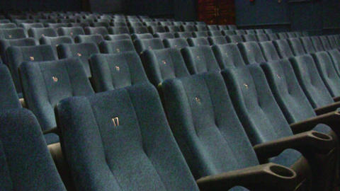 cinema interior Stock Video Footage