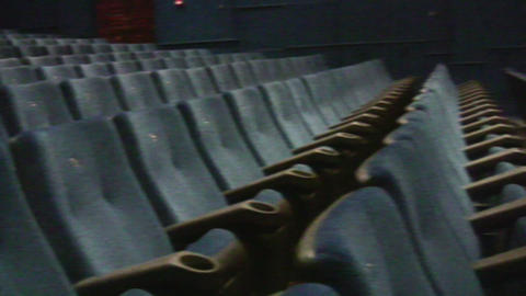 Cinema Interior stock footage