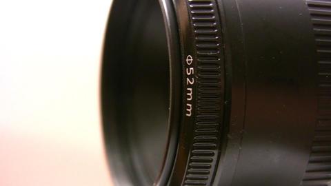rotating camera lens Footage