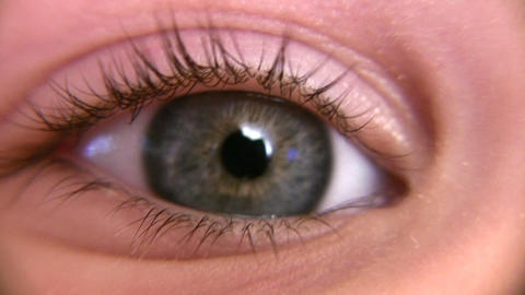 child eye macro Stock Video Footage