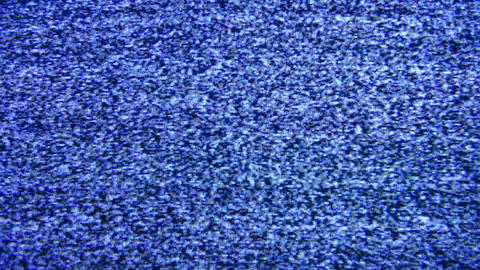 tv no signal 2 Stock Video Footage