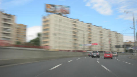 car on road Stock Video Footage
