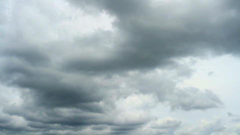 Thunder Clouds Time Lapse stock footage