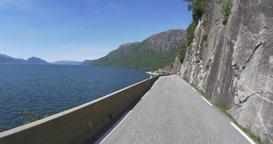 4K Scenic Drive, Norway, Hjelledalen Footage