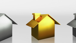investment the gold house HD Animation