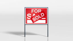 signage stand sold on top of for sale 4k Animation