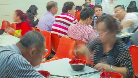 Shanghai fast food timelapse 04 Footage