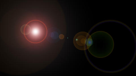Lens Flare stock footage