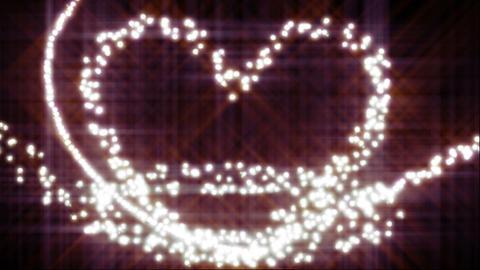 Glow heart Stock Video Footage