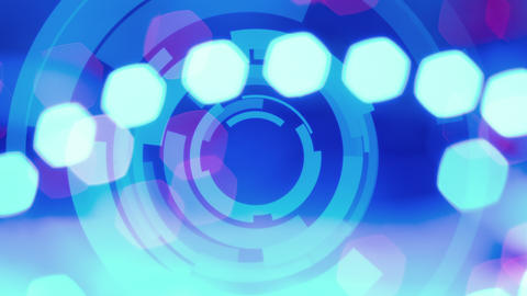 4k Abstract Lights Background stock footage