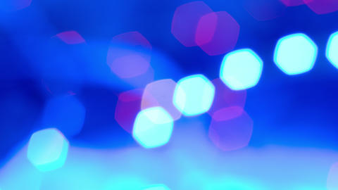blurred blue lights, abstract backgrounds 4k Stock Video Footage