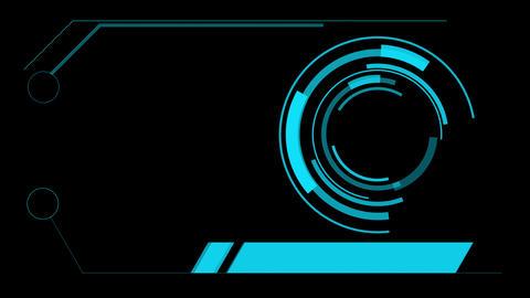 screen hologram hud interface graphics Animation