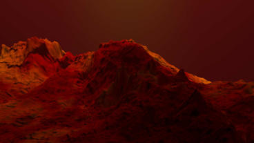 4k Red liquid ocean sea water lava magma,red mountain... Stock Video Footage