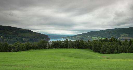 4K Timelapse, Randsfjorden, Norway Footage