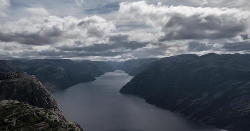4K Timelapse, Preikestolen, Norway Footage