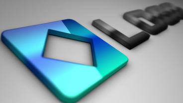 Business 3D Extruded Logo Camera Fly Animation After Effects Template