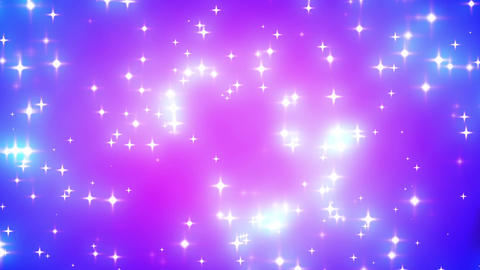 Pink Nebula Looping Glowing Stars Background 1 Animation