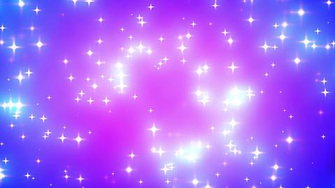Pink Nebula Looping Glowing Stars Background 1 stock footage