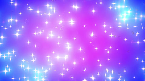 Pink Nebula Looping Glowing Stars Background 2 Fas Animation