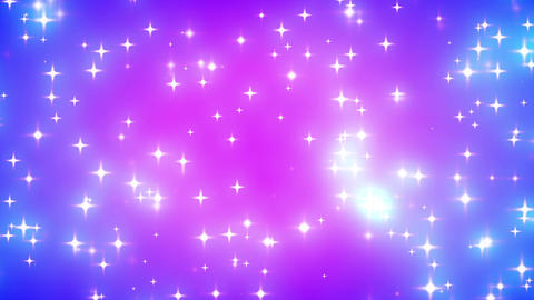 Pink Nebula Looping Glowing Stars Background 2 Animation