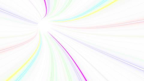 Tunnel Neon Tube EL 1w 4k Animation