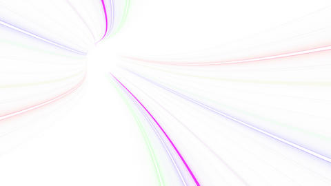 Tunnel Neon Tube FL 1w 4k Animation
