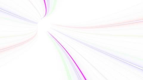 Tunnel Neon Tube FL 1w 4k Animation
