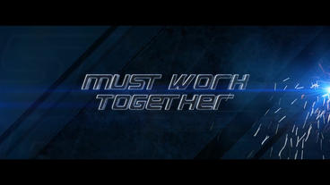 Action Movie Trailer and Titles After Effects Template