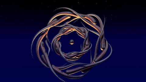 Fractal Structures Animation Animation