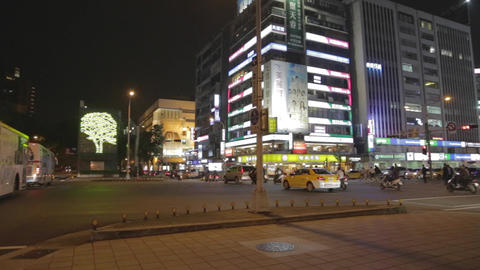pan - dunhua main intersection Footage