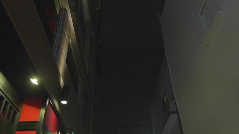 high to low tilt - east soho Stock Video Footage
