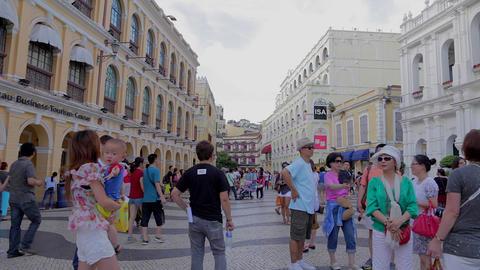 senado square - near business tourism center 2 Footage
