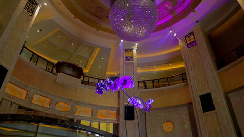 lobby of the MGM macau Footage