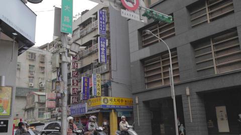 high to low tilt - shida street Footage
