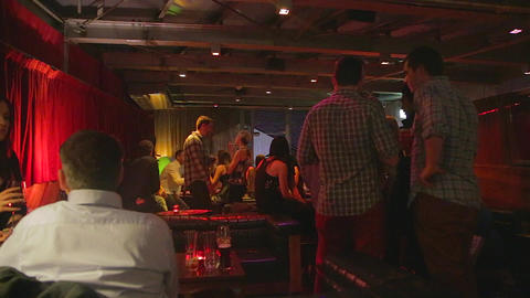 an upscale jazz bar in melbourne Footage