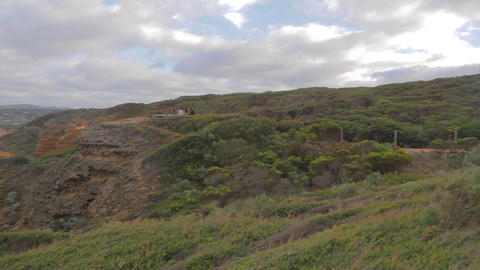 pan the of Cape Otway lightstation 2 Footage