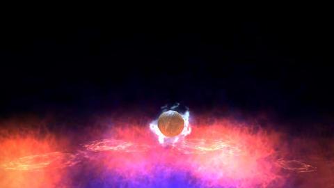 Magic Ball Animation Stock Video Footage