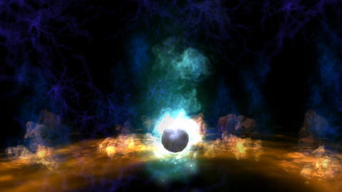 Magic Ball Animation Stock Video Footage
