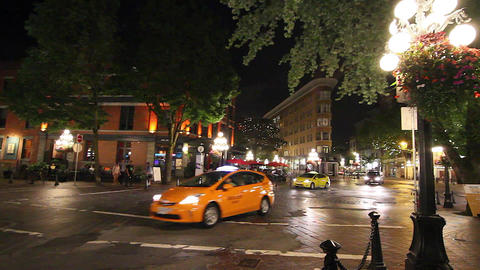nightlife in gastown compilation Footage