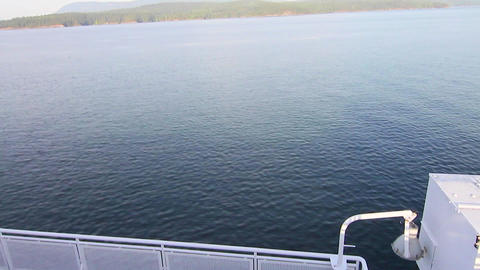 low to high - view from bc ferry Footage