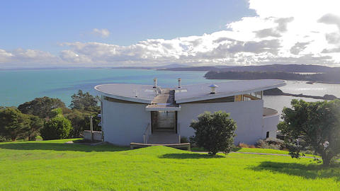 great view from a high hill on Waiheke Island Footage