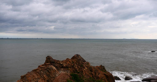 4k sparkling ocean sea water waves surface&coastal... Stock Video Footage