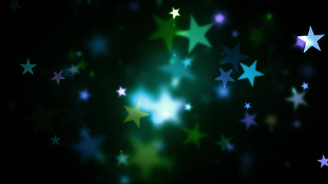 Colorful Holidays Shining Stars stock footage