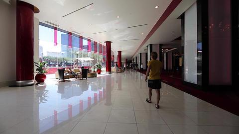 luxury las vegas lobby and swimming pool Footage