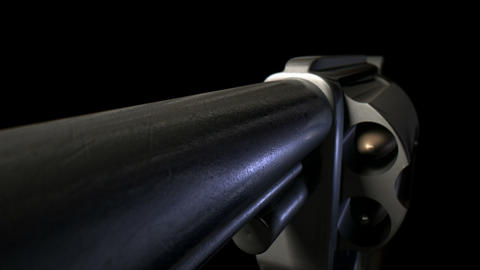 pistol animated zoom dark Stock Video Footage