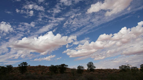 Cloudscape time lapse Stock Video Footage